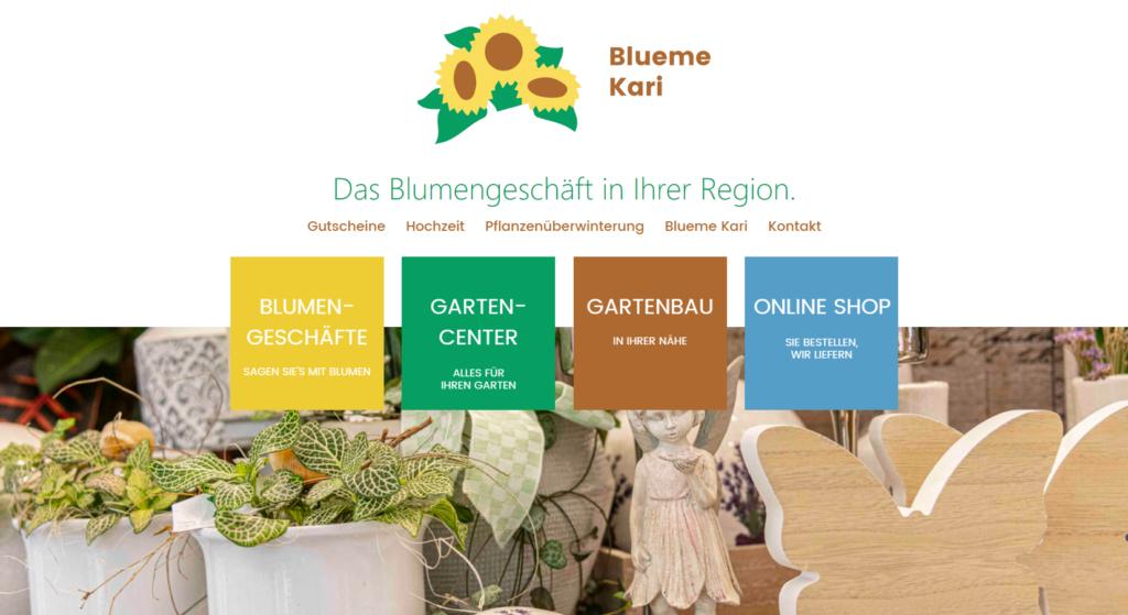 Blueme Kari Website